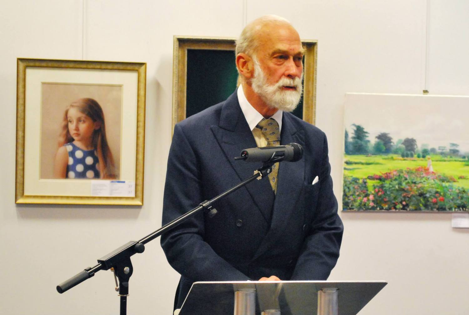 HRH Prince Michael of Kent at Rossotrudnichestvo