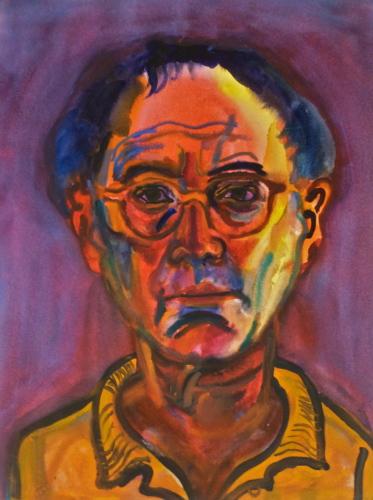 Ted Keller New York City Oil Paintings