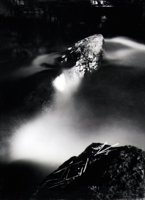 Waterfall series-Pinhole Image