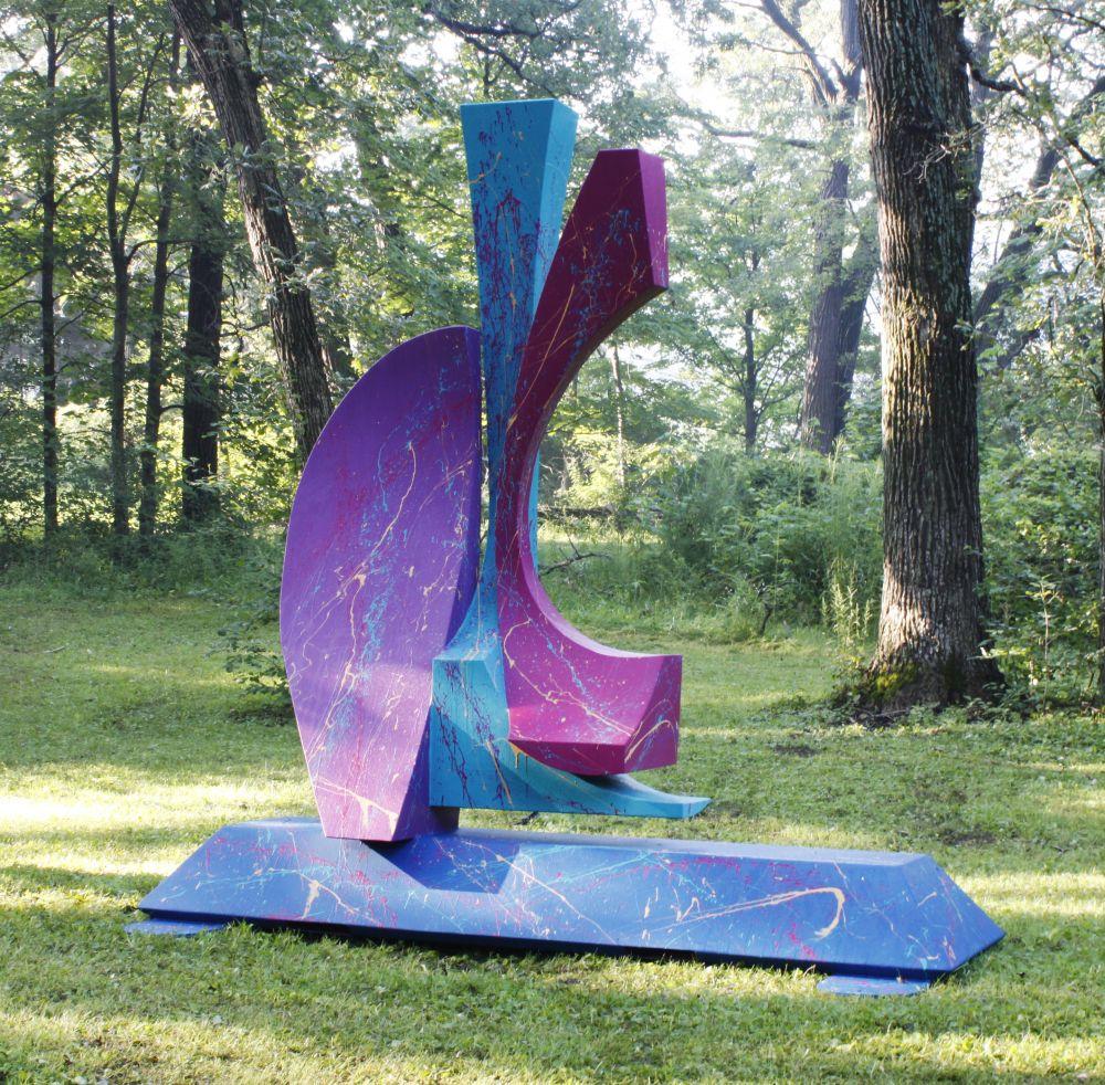Three Queens Sculpture by Richard Arfsten