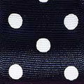 030 black grosgrain polka dot ribbon