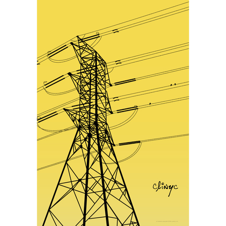 illustration -+- power lines -+- clinyc -+- 2005 -+- art -+- clinyc