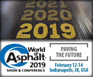 World of Asphalt Show Banner