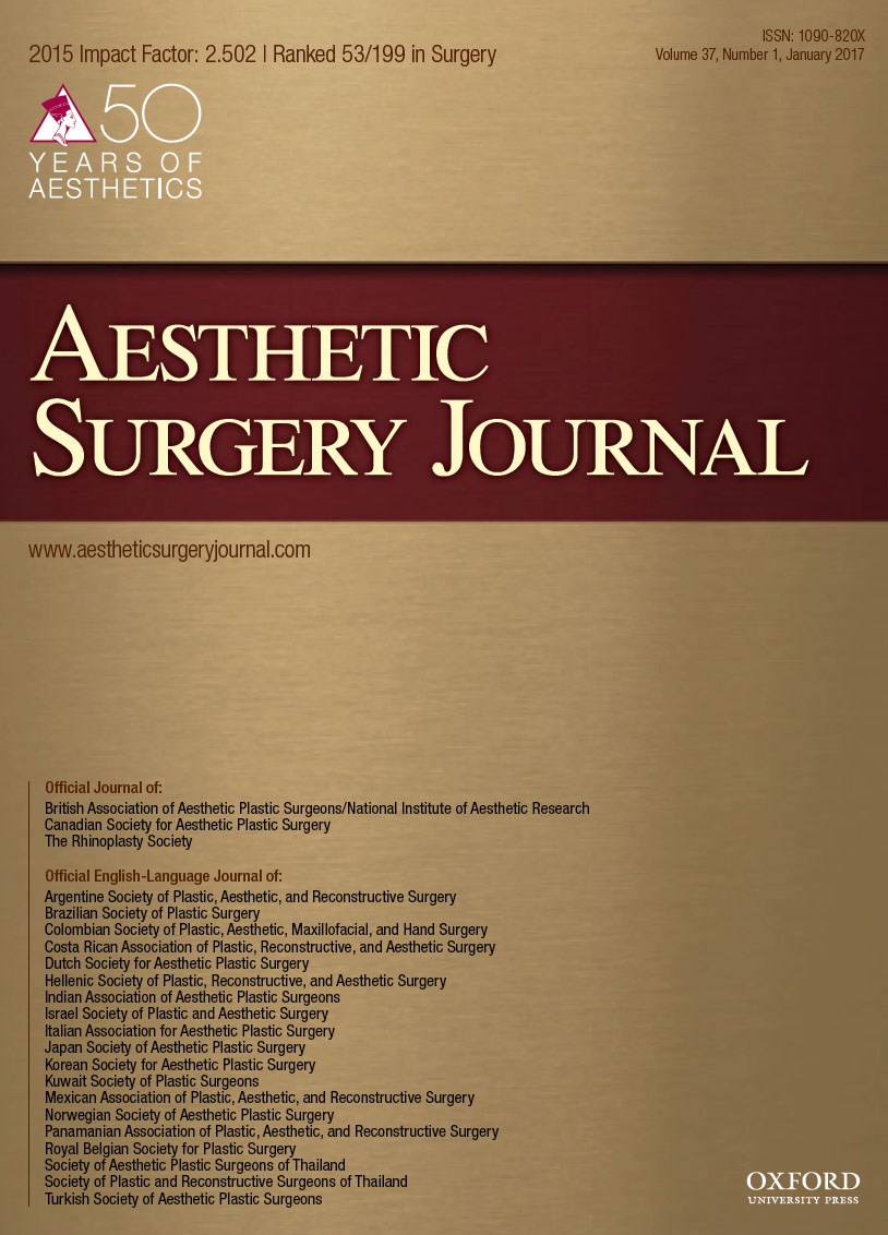 ae3f3d8f43 Publications - Aesthetic Surgery Journal