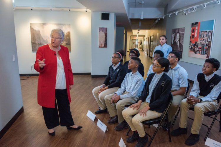 City Schools Chancellor Carmen Fariña visits Ascend