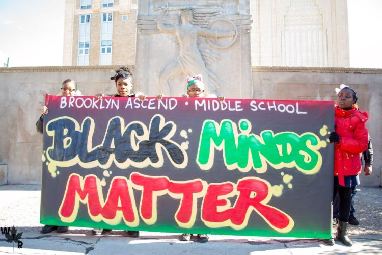 Black minds matter. Black lives matter.