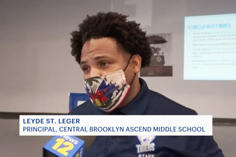 Central Brooklyn Ascend Middle School recognized on News 12