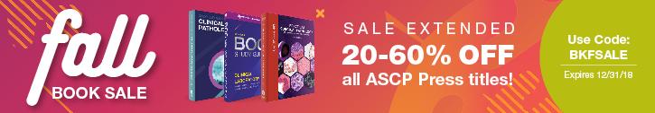 ASCP Books Sale