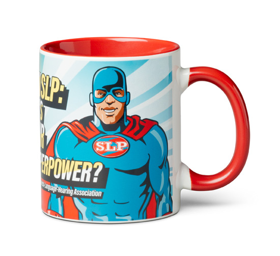 Superhero Mug Side 1