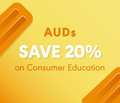 AUDs Save 20%