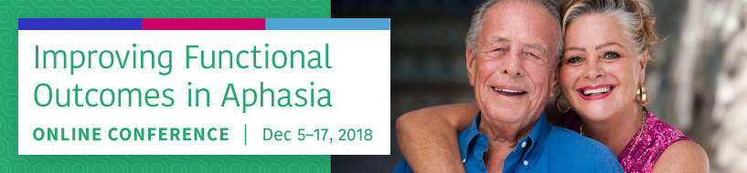 Get a great deal on our upcoming Aphasia conference