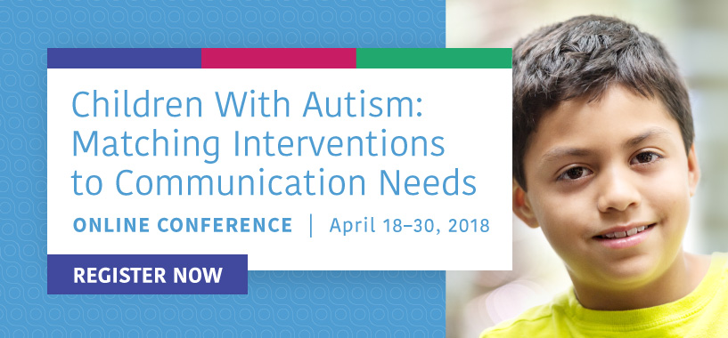Autism Online Conferece - Register Today