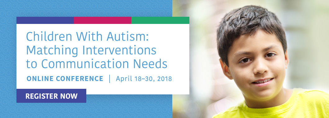 Autism Online Conference - Register Today