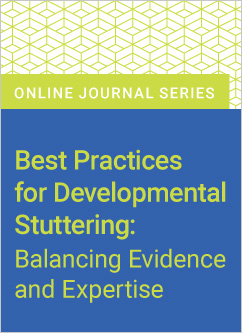 New Journal on Developmental Stuttering
