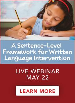 Sentence-Level Interventions Live Webinar