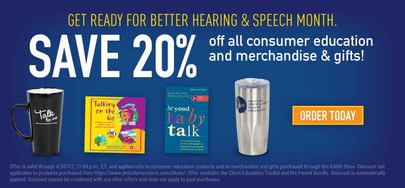 BHSM Sale - Save 20% on Consumer Education Items and Merchandise
