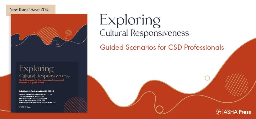New Cultural Responsiveness Book from ASHA Press