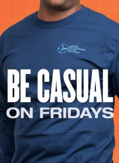 You're still stylish on Friday