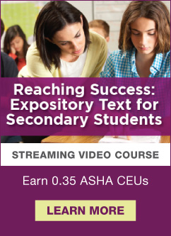 Check out one of our latest streaming video courses!