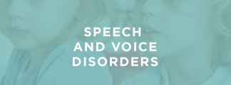 Courses on Speech and Voice Disorders