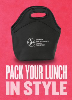 ASHA Lunch Bag