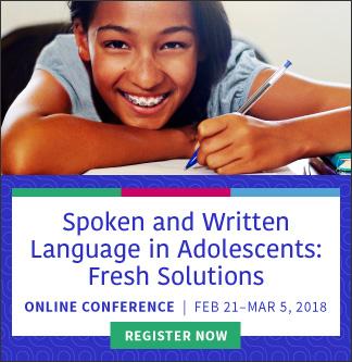 Spoken & Written Language Online Conference
