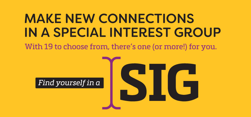 Make New Connections in a SIG