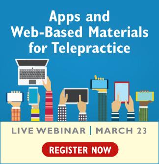 New Telepractice Webinar