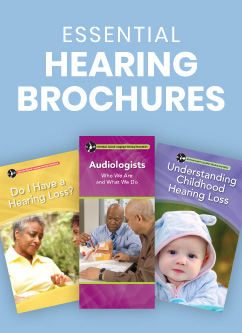 Audiology Brochures