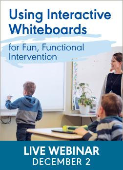 Webinar on Interactive Whiteboards