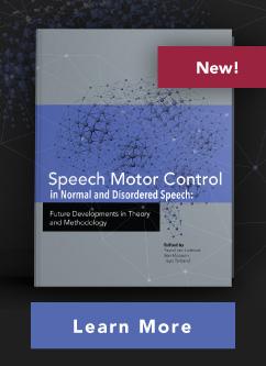 Speech Motor Control book