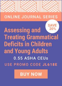 Save 20% off ASHA Journal Course