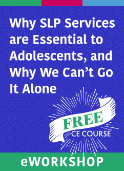 Free ASHA CE Course - Featuring Connect 2018 Speaker