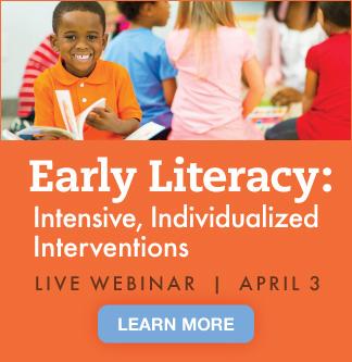 Early Literacy Live Webinar