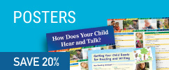 Save 20% on posters for audiologists and SLPs