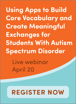 Using Apps for Students with ASDLive Webinar
