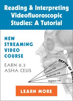 Videofluoroscopic Studies