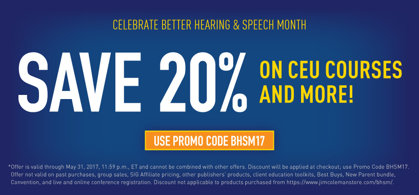 Save 20% for BHSM!