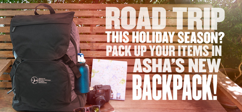ASHA Backpack