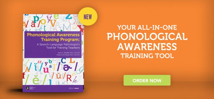 New Phonological Awareness Training Program