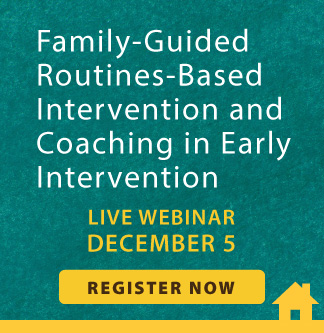 Early Intervention Live Webinar