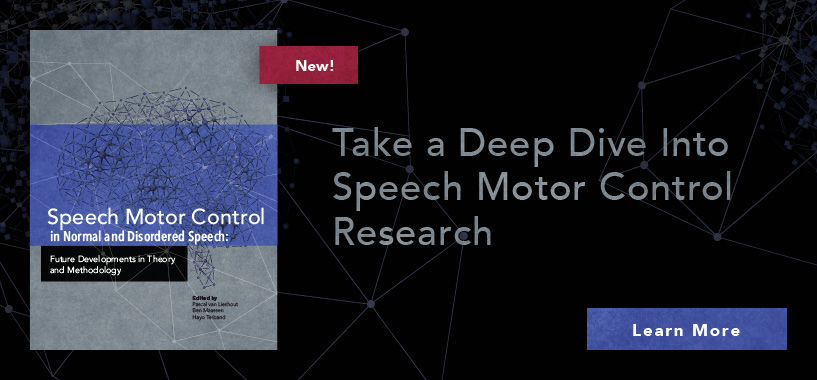 New Speech Motor Control Reference Book