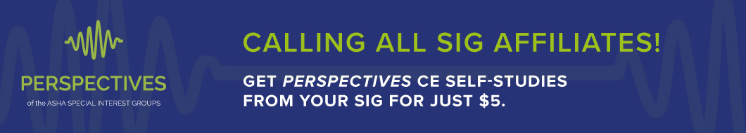 Explore SIG Perspectives Courses