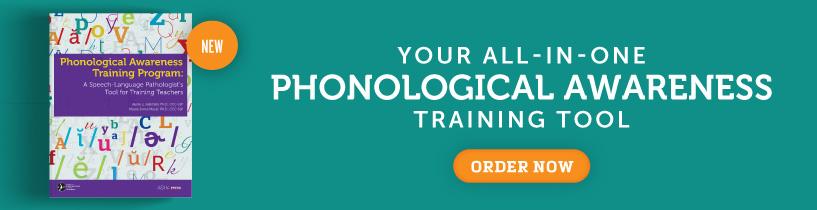 Phonological Awareness Training Program