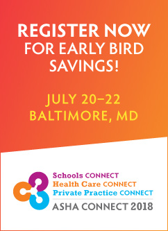 Register for ASHA Connect Now for Early Bird Savings