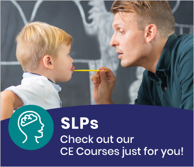 CE Courses For SLPs