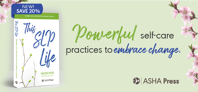 New SLP Coaching Book from ASHA Press
