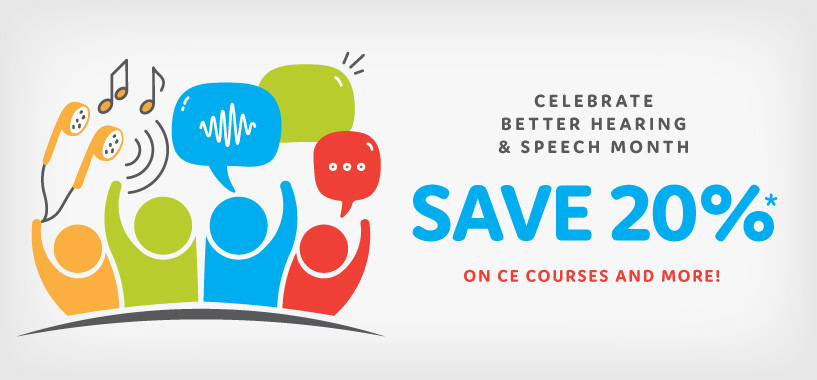 Save 20% in May on CE Courses and More