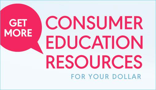 Save 20% on Consumer Education
