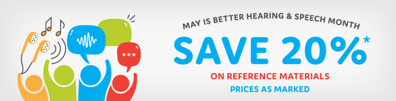 Save 20% in May on Reference Materials